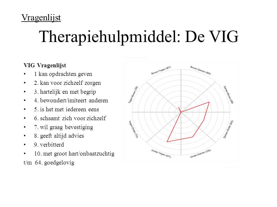 Therapiehulpmiddel: De VIG
