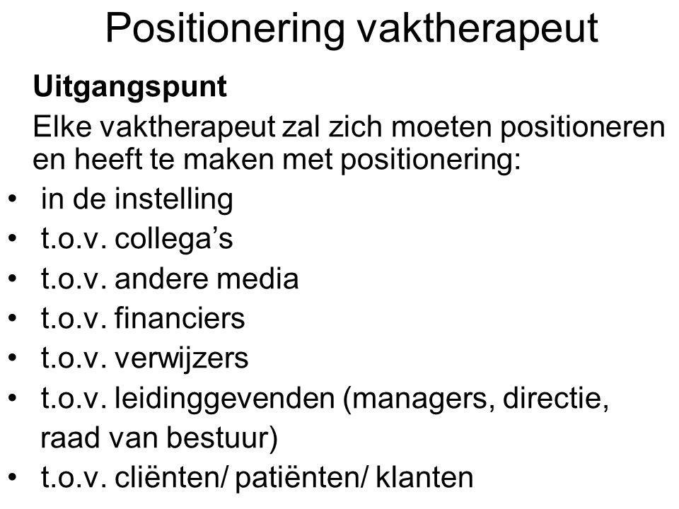 Positionering vaktherapeut