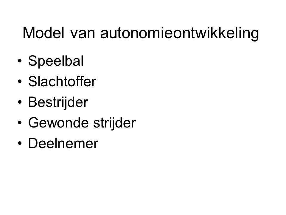 Model van autonomieontwikkeling