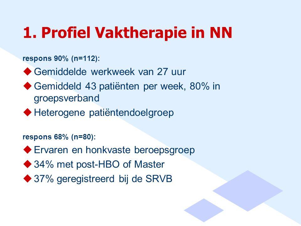 1. Profiel Vaktherapie in NN