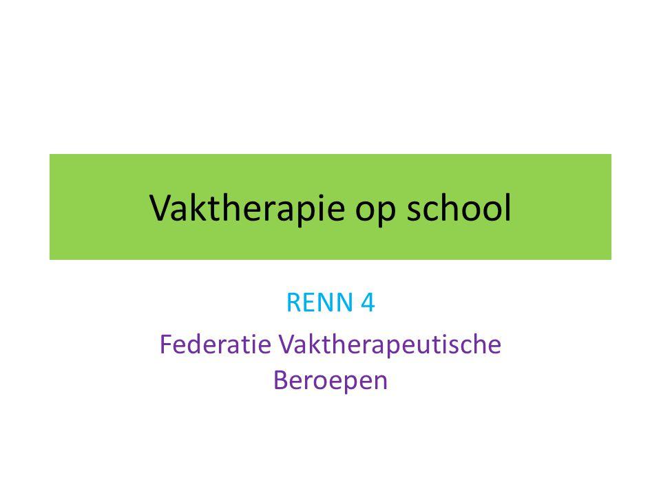 RENN 4 Federatie Vaktherapeutische Beroepen