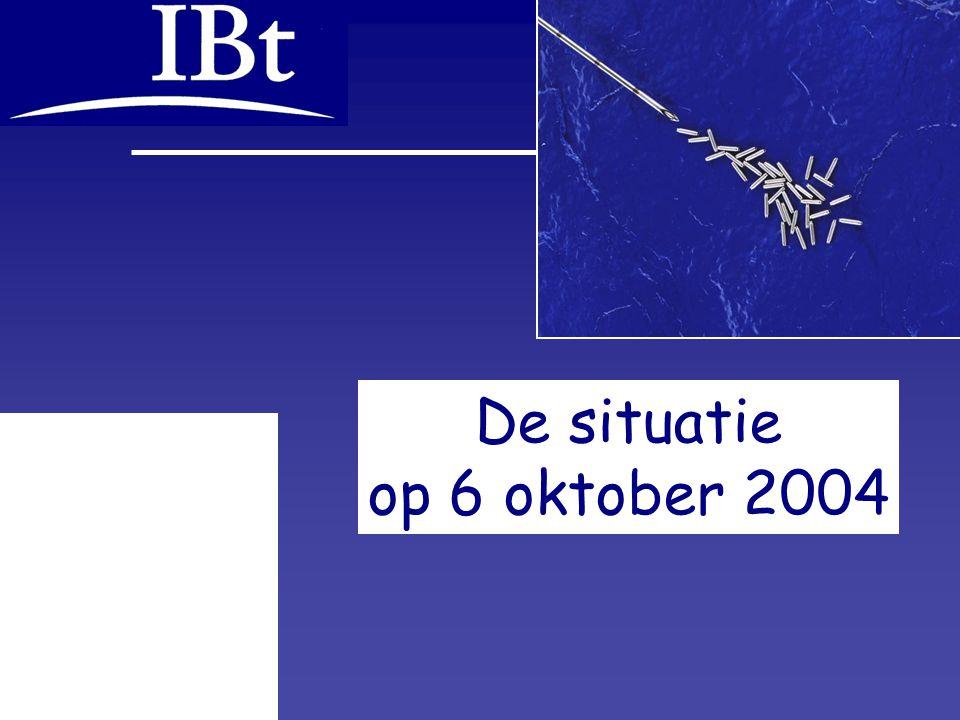 De situatie op 6 oktober 2004