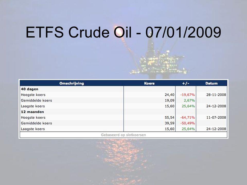 ETFS Crude Oil - 07/01/2009