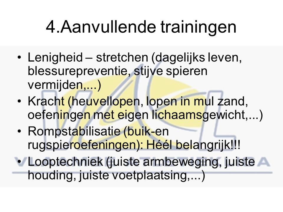 4.Aanvullende trainingen