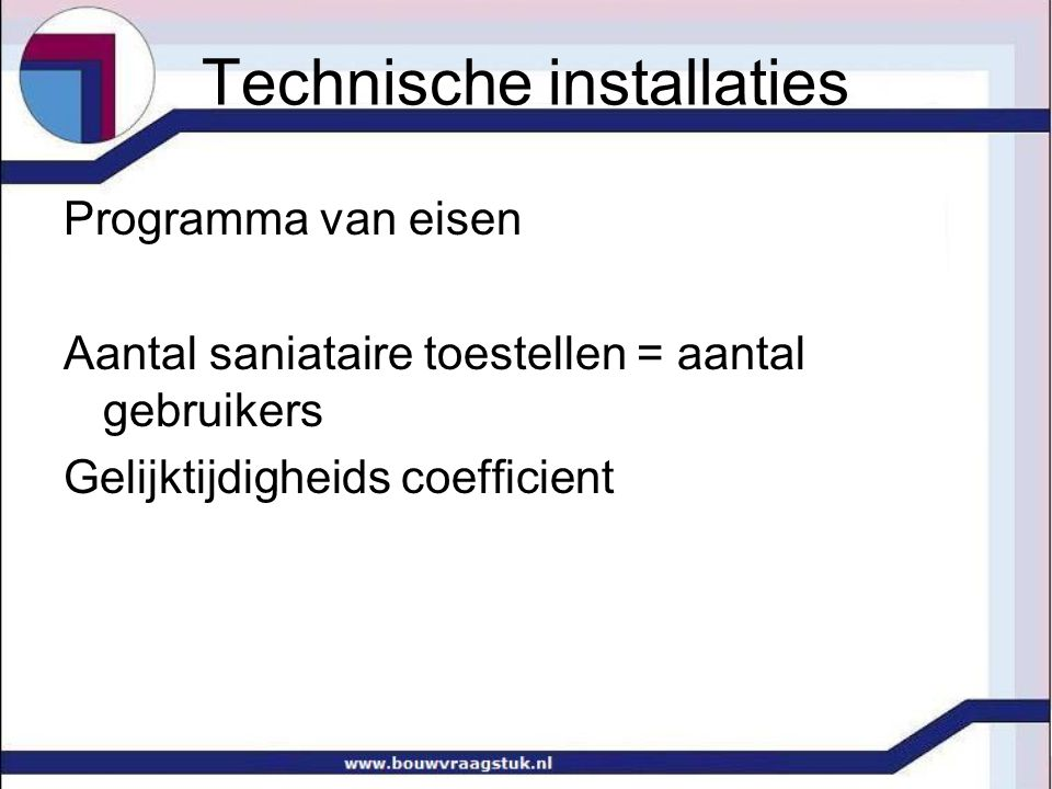 Technische installaties