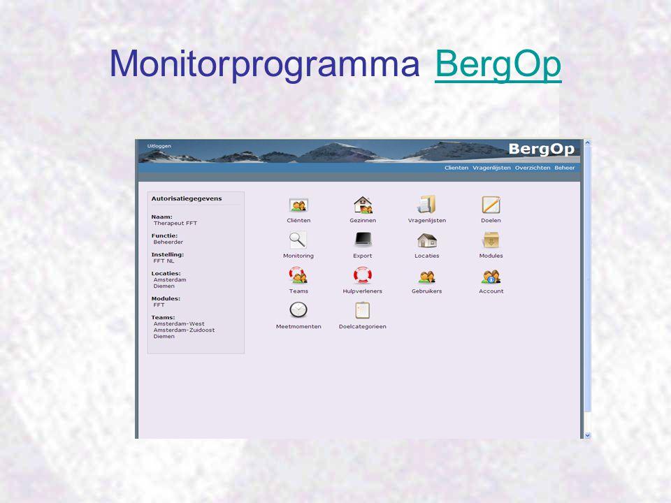 Monitorprogramma BergOp