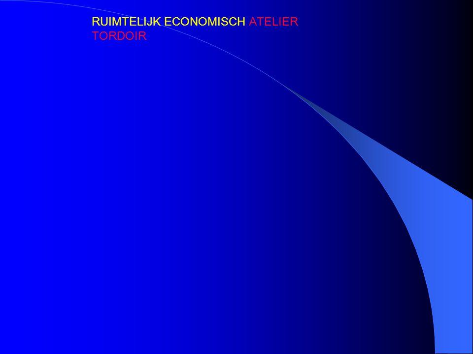 RUIMTELIJK ECONOMISCH ATELIER TORDOIR