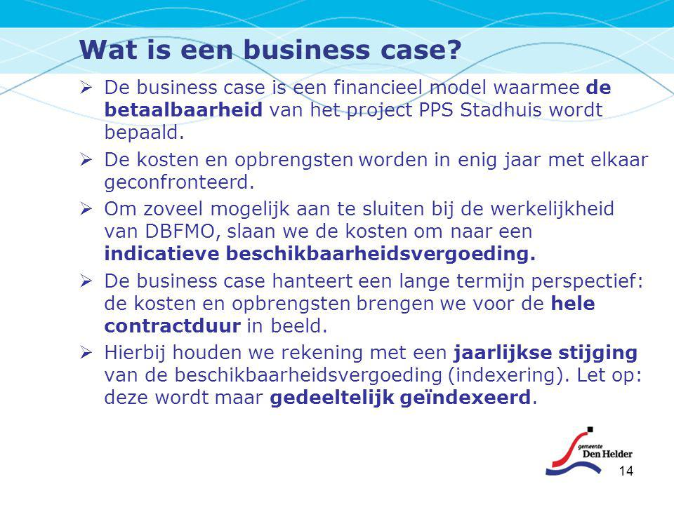 Wat is een business case