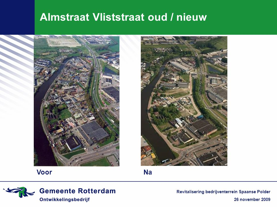 Almstraat Vliststraat oud / nieuw
