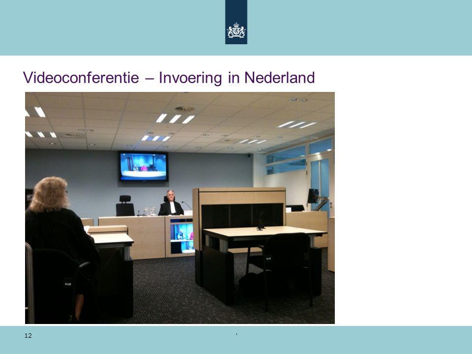 Videoconferentie – Invoering in Nederland