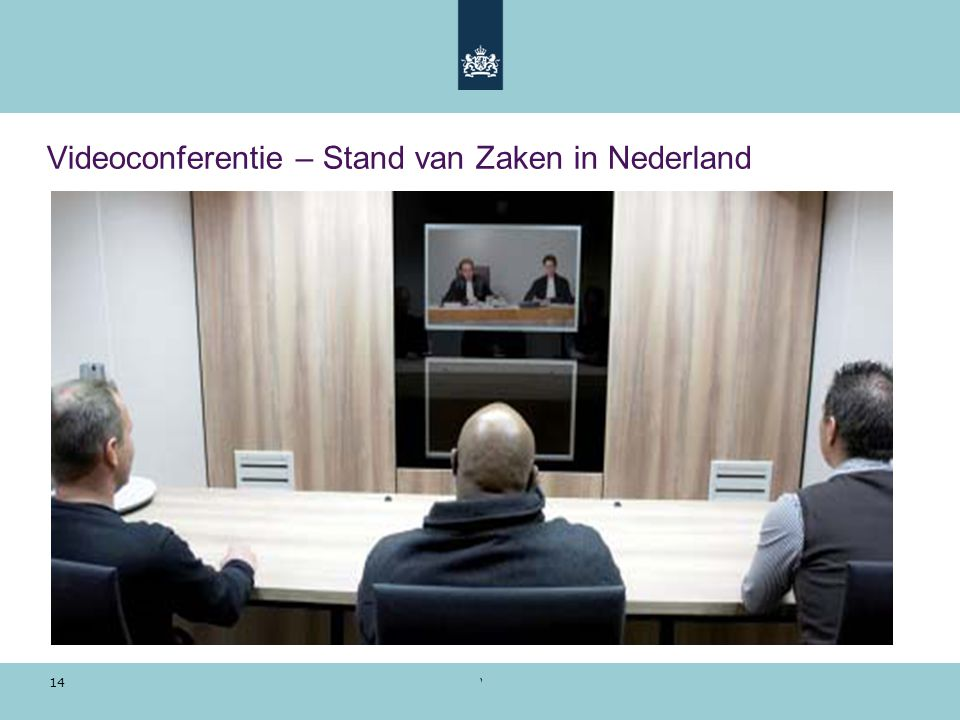 Videoconferentie – Stand van Zaken in Nederland