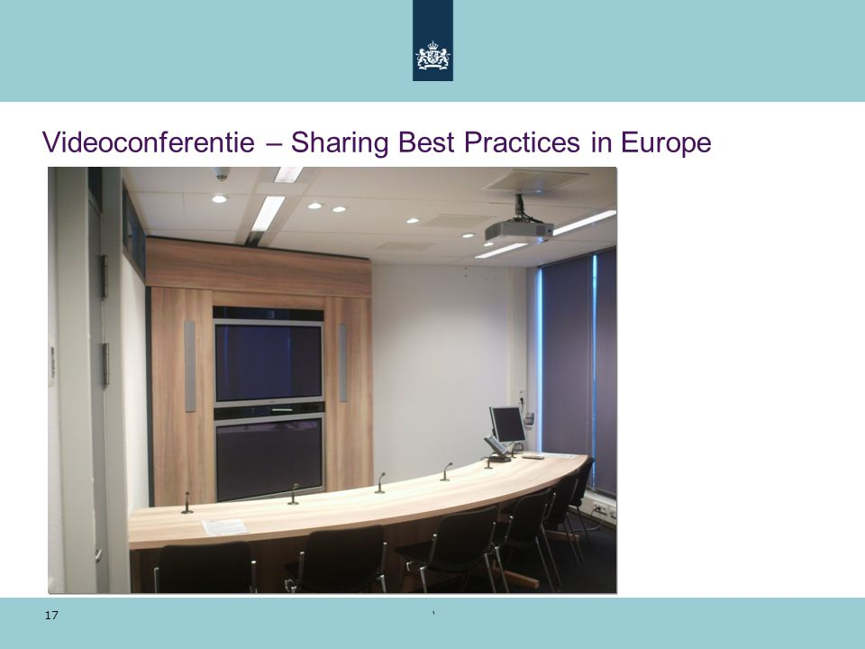 Videoconferentie – Sharing Best Practices in Europe