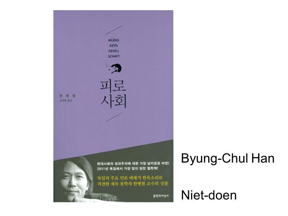 Byung-Chul Han Niet-doen