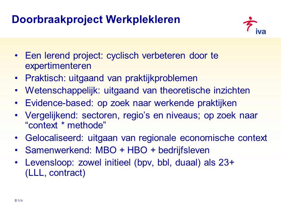 Doorbraakproject Werkplekleren