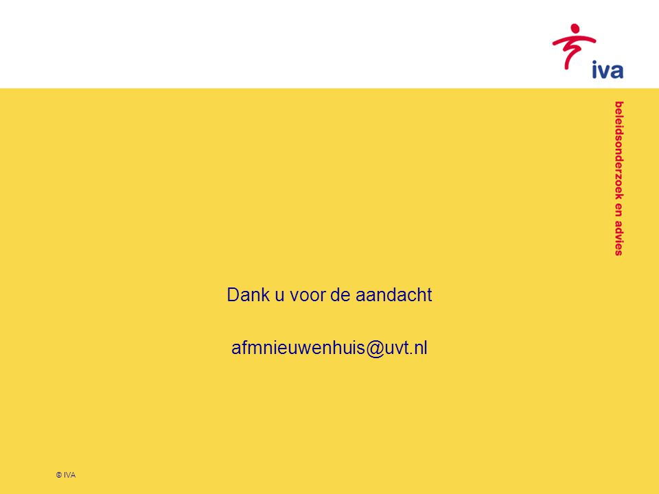 Dank u voor de aandacht afmnieuwenhuis@uvt.nl