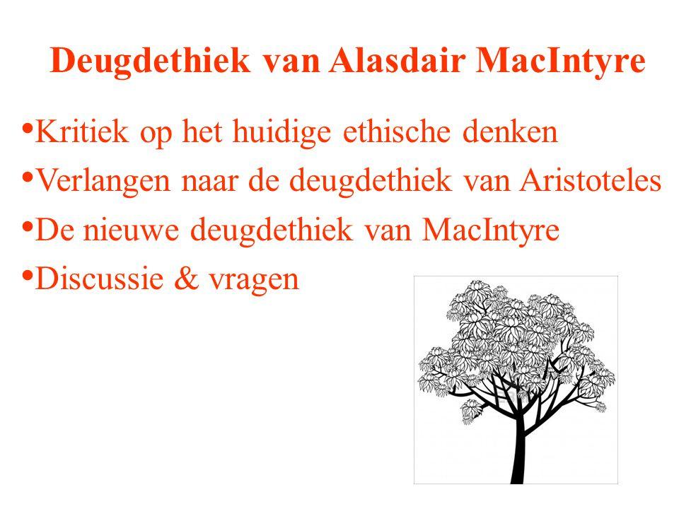 Deugdethiek van Alasdair MacIntyre