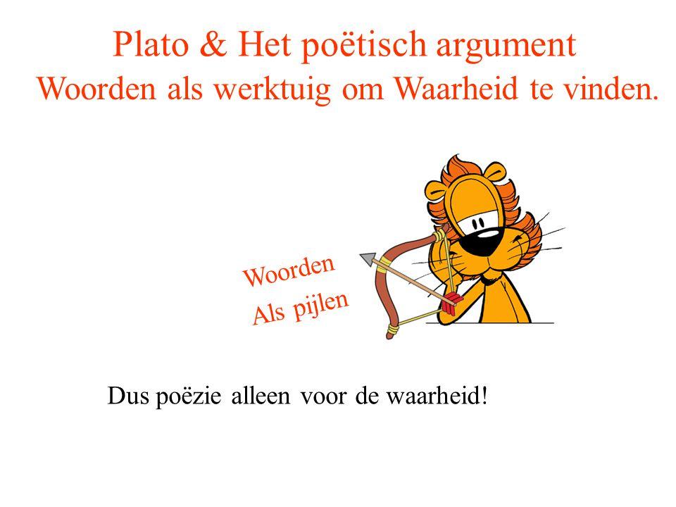 Plato & Het poëtisch argument