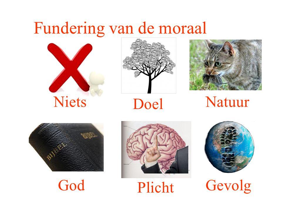 Fundering van de moraal