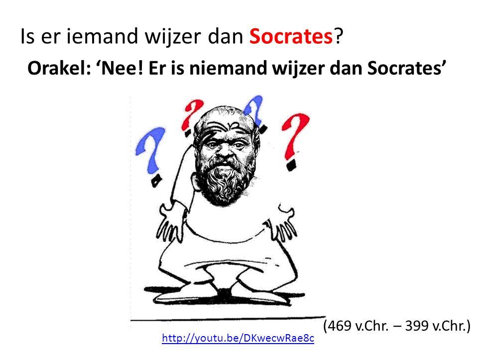Is er iemand wijzer dan Socrates
