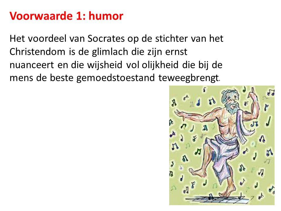 Voorwaarde 1: humor