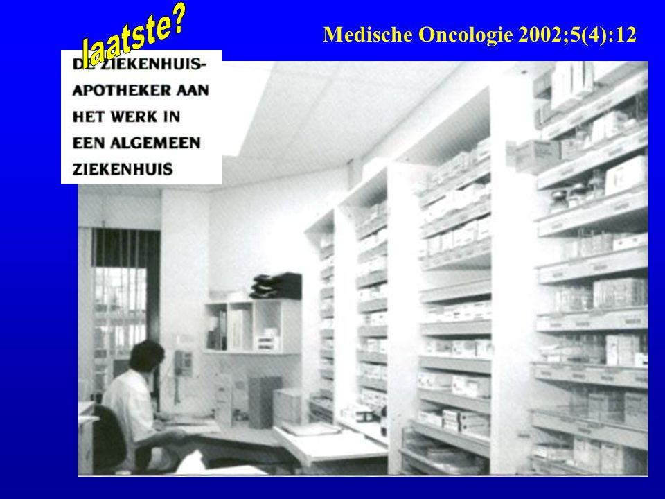 laatste Medische Oncologie 2002;5(4):12