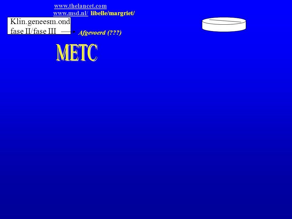 METC Klin.geneesm.ond fase II/fase III www.thelancet.com