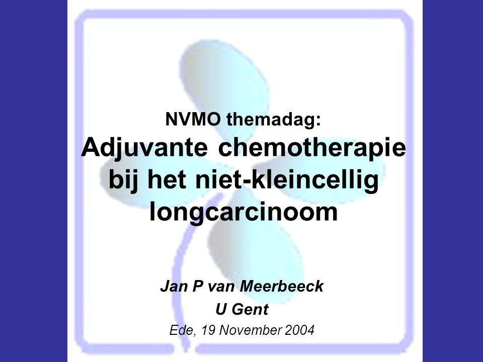 Jan P van Meerbeeck U Gent Ede, 19 November 2004
