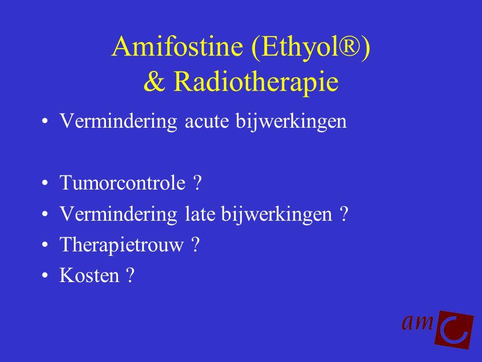 Amifostine (Ethyol®) & Radiotherapie