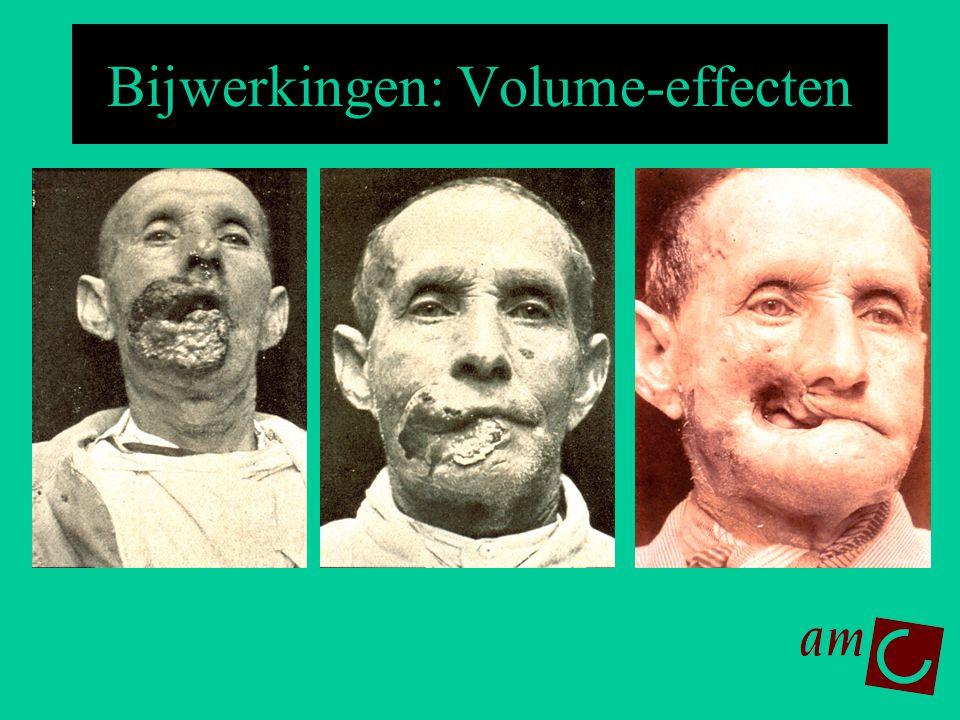 Bijwerkingen: Volume-effecten