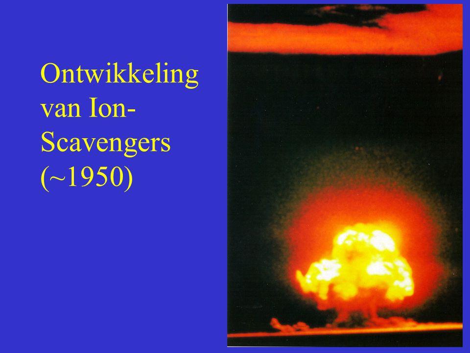 Ontwikkeling van Ion-Scavengers (~1950)