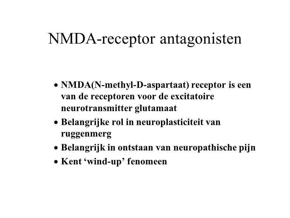 NMDA-receptor antagonisten