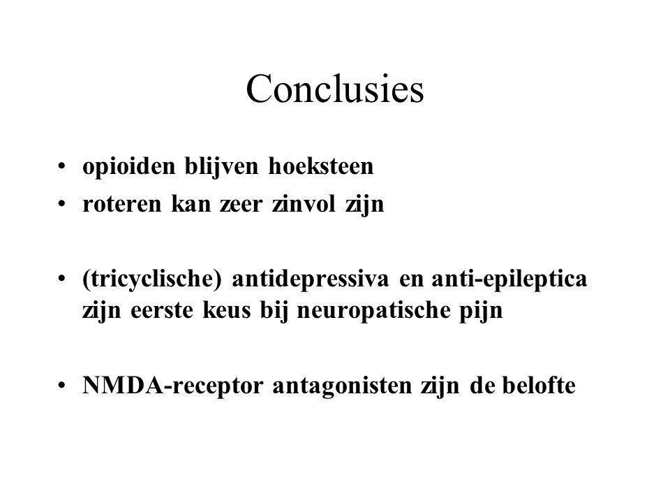 Conclusies opioiden blijven hoeksteen roteren kan zeer zinvol zijn