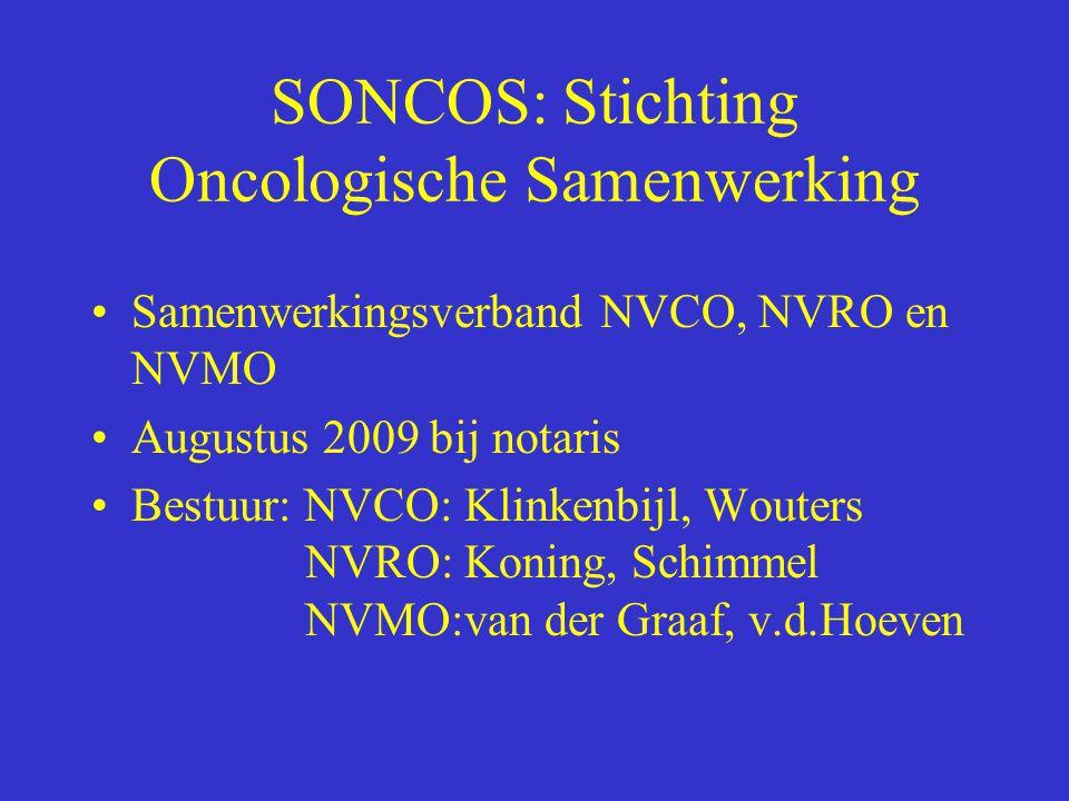 SONCOS: Stichting Oncologische Samenwerking