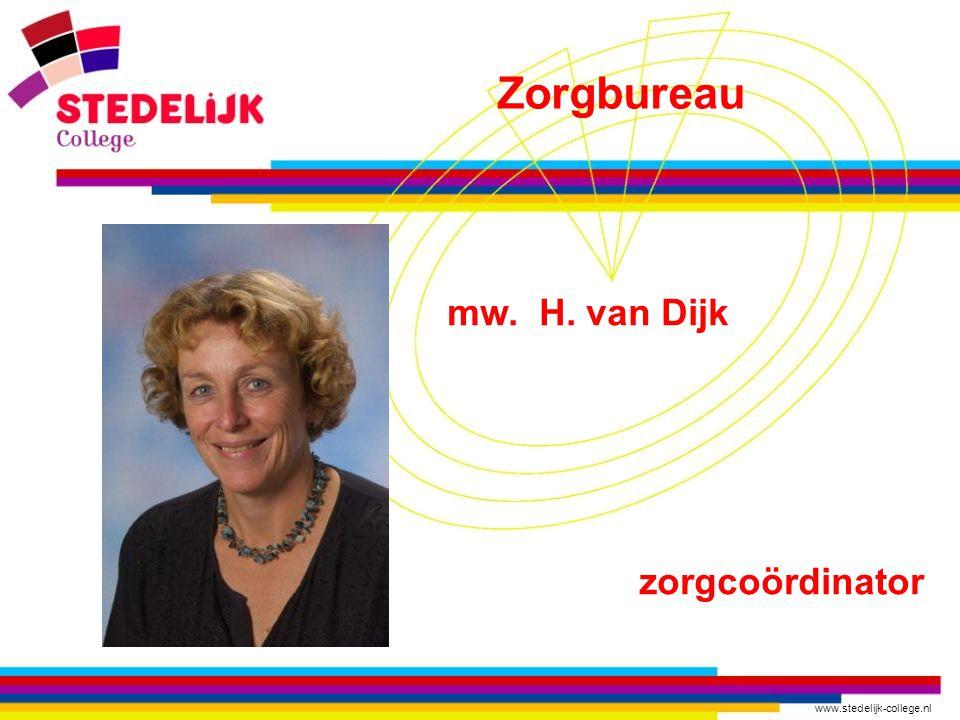 Zorgbureau mw. H. van Dijk zorgcoördinator
