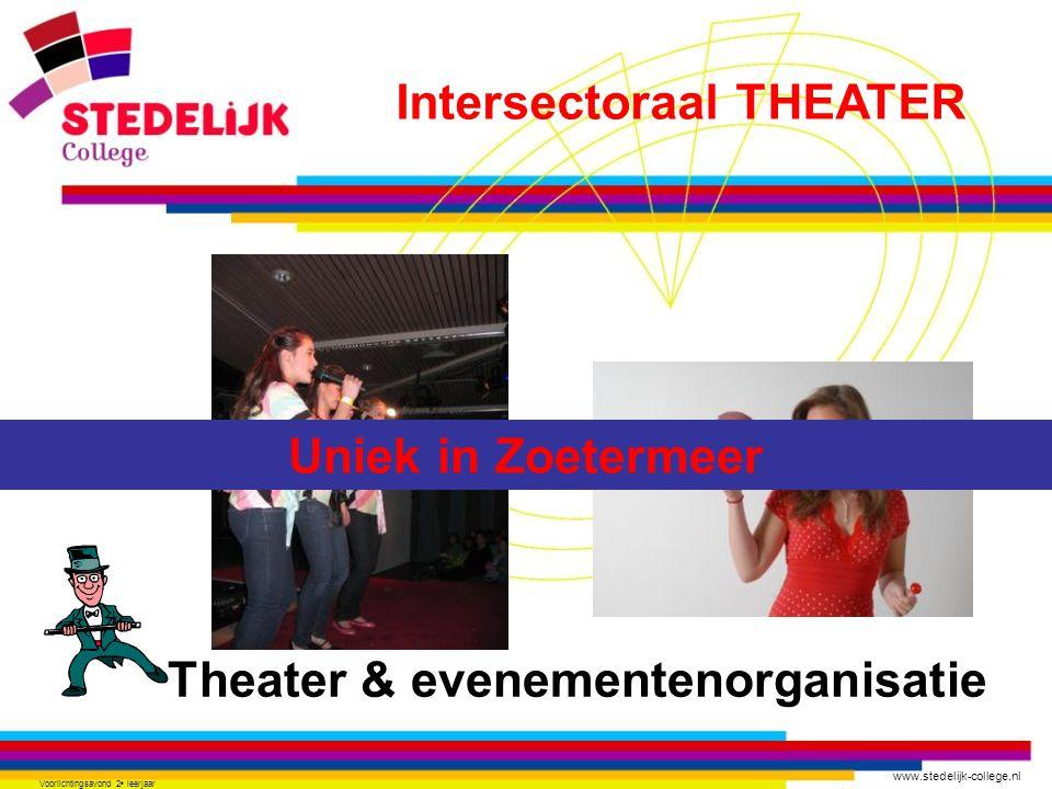 Intersectoraal THEATER Theater & evenementenorganisatie