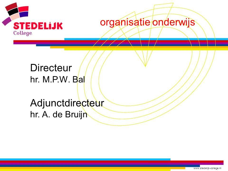 organisatie onderwijs