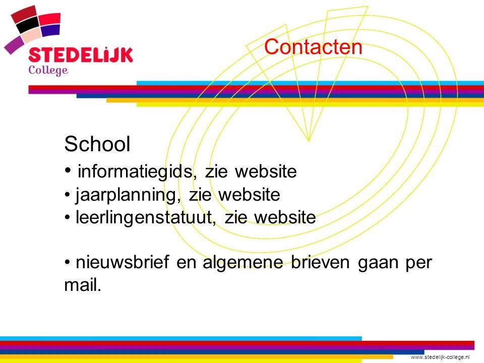 informatiegids, zie website