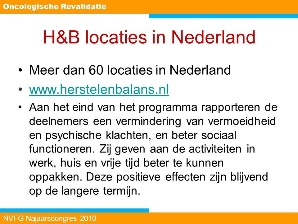 H&B locaties in Nederland