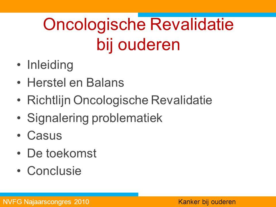 Oncologische Revalidatie bij ouderen