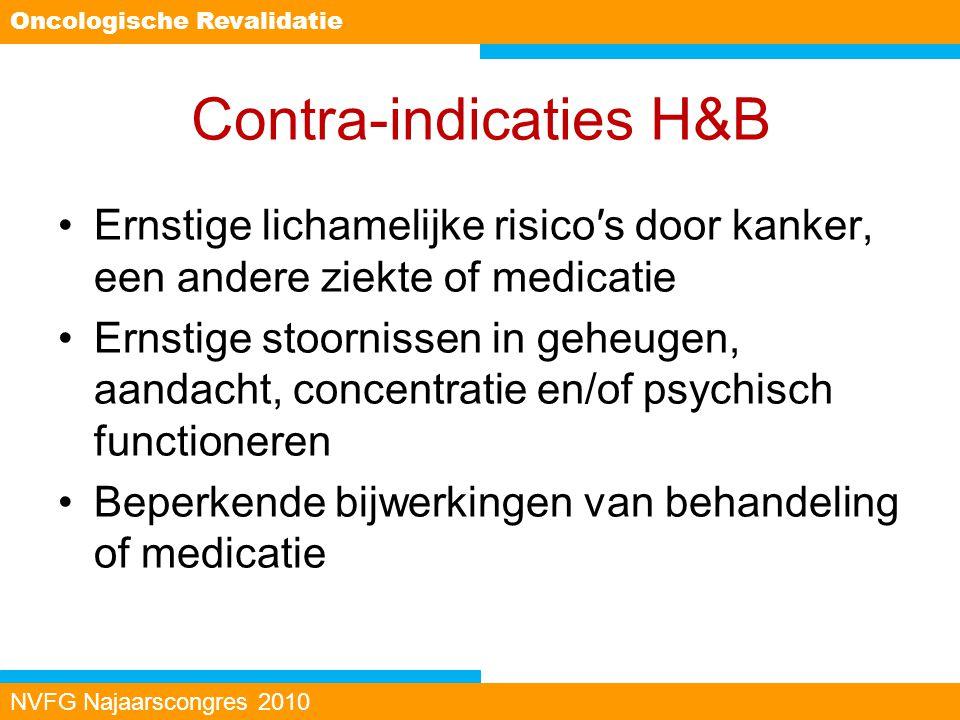 Contra-indicaties H&B