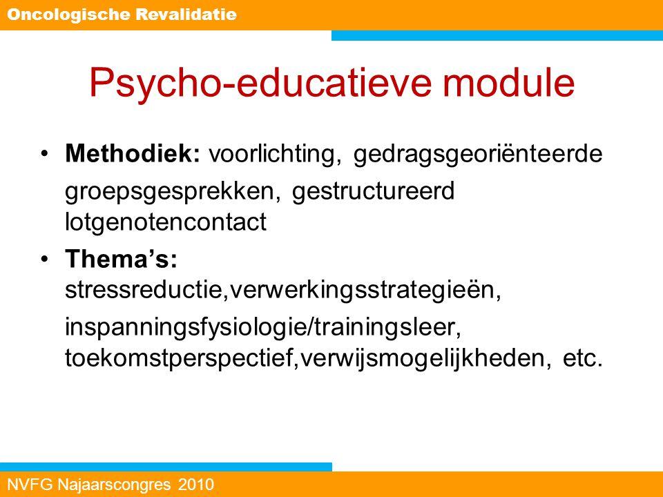 Psycho-educatieve module