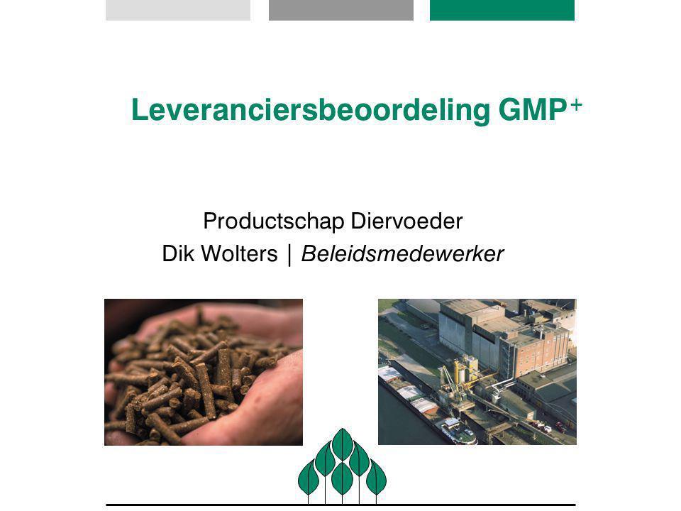 Leveranciersbeoordeling GMP+