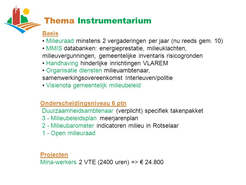 Thema Instrumentarium