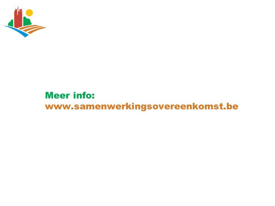 Meer info: www.samenwerkingsovereenkomst.be