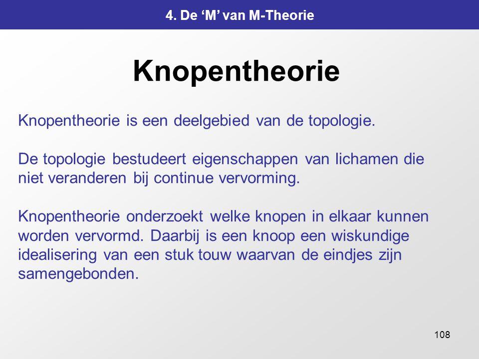Knopentheorie Knopentheorie is een deelgebied van de topologie.