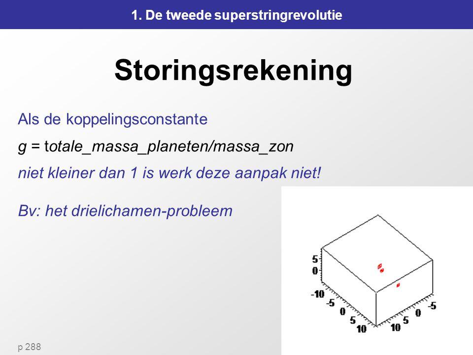 1. De tweede superstringrevolutie