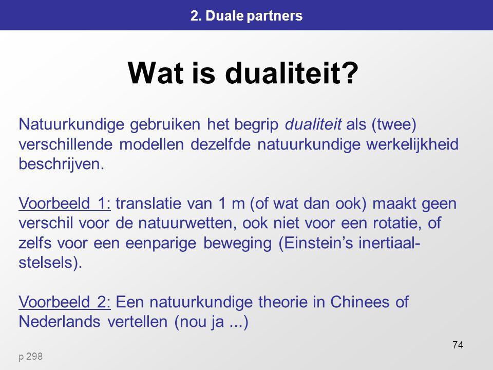 2. Duale partners Wat is dualiteit