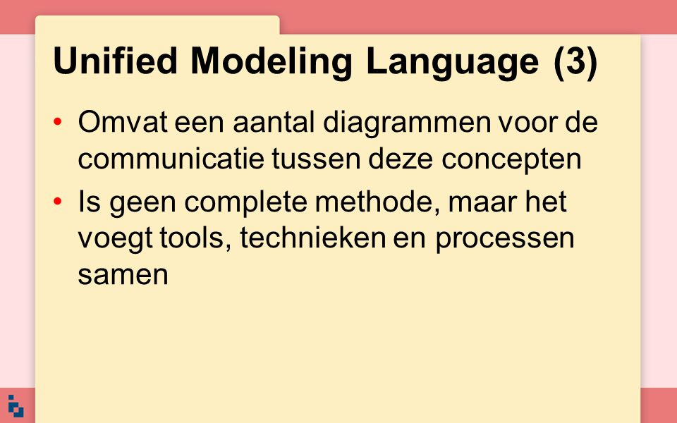 Unified Modeling Language (3)