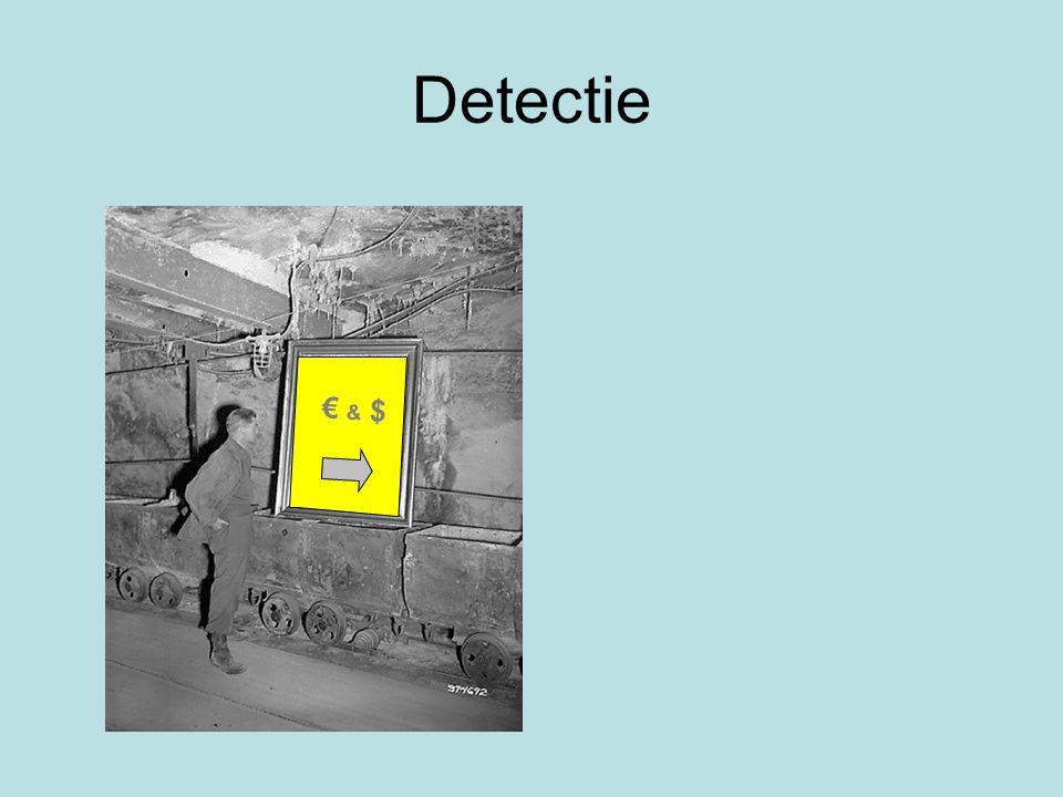 Detectie € & $