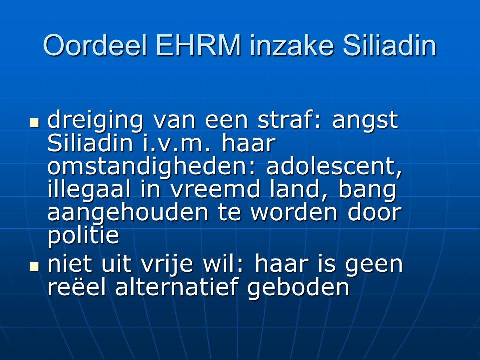Oordeel EHRM inzake Siliadin